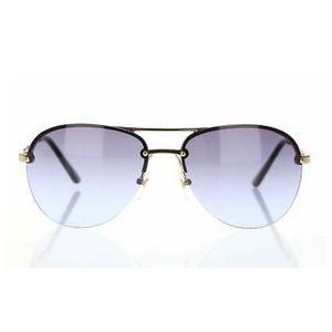 Michael Kors Kai Blue Aviator Sunglasses